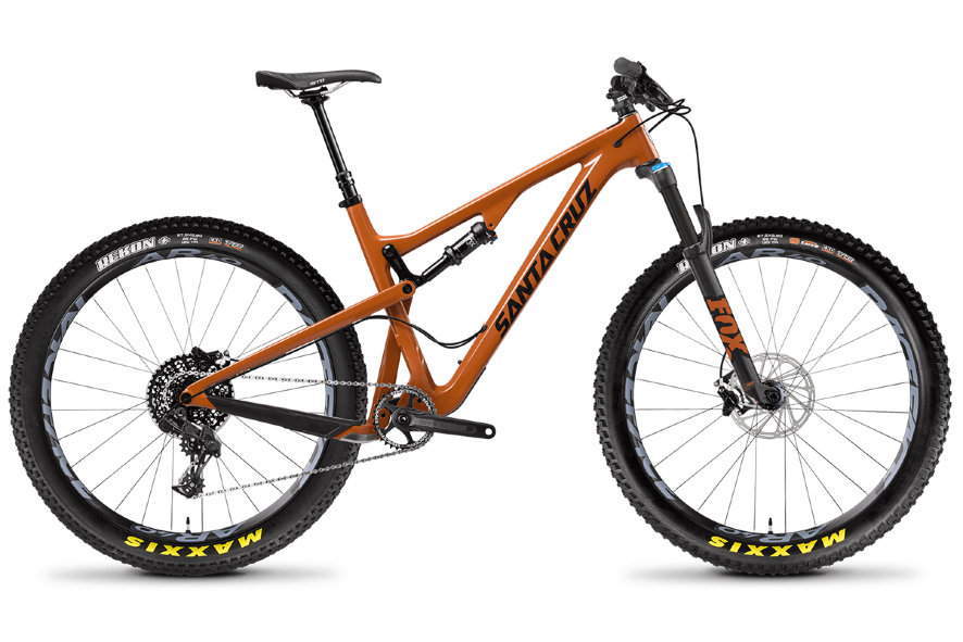 "Велосипед ""Santa Cruz"" Tallboy A R+ FOX 34 Rhythm 130 (2018)"