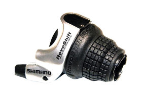 Шифтер Shimano Tourney, SL-RS41, лев, 3(SIS) скор.