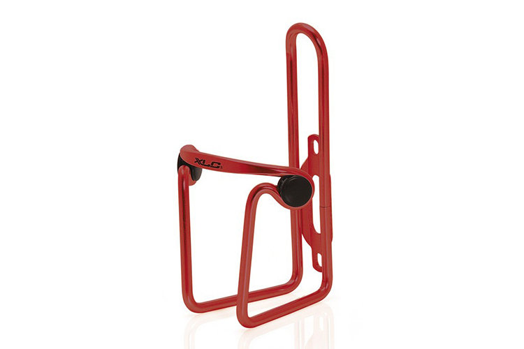 Фляги и держатели XLC Drinking Bottle Holder Alu red, pad rand SB-Plus BC-A02 280