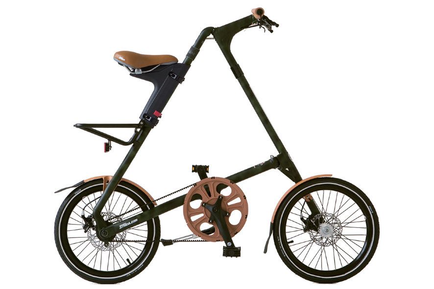 "Велосипед ""Strida"" SX army camoflage w/brown parts (камуфляжный)"