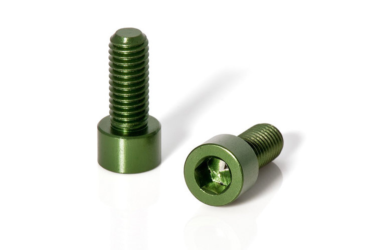 Фляги и держатели XLC Screws for water bottle holders 2piece Set, green BC-X02 300